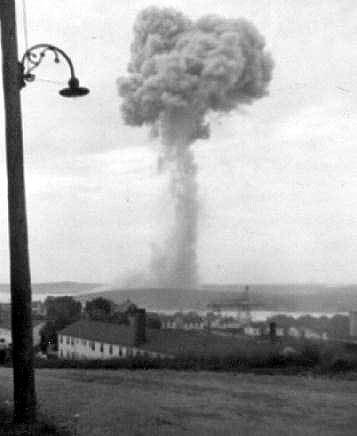Halifax explosion's toll in 1917 only surpassed by WW2